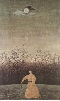 "thewoodbetween: """"Alone in the Night"" by Toshio Arimoto "" Japanese Drawings, Japanese Artists, Japanese Modern, Japan Art, Figurative Art, Unique Art, Painting Inspiration, Digital Art, Illustration Art"