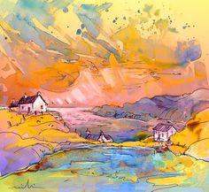 Scotland 27 bis. Artist:Miki De Goodaboom. Medium:Painting - Mixed Technique