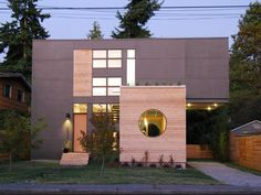 Front Exterior of the Greenwood House, Malboeuf Bowie Architecture | Remodelista Architect / Designer Directory