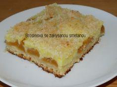 Recepty babičky Aničky - Sladkosti, pečení, mlsání - Další sladkosti 2 Lasagna, French Toast, Pie, Breakfast, Ethnic Recipes, Food, Pineapple, Lasagne, Torte