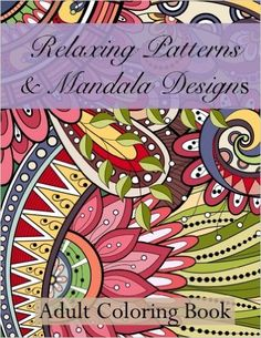 It's time to join the adult coloring book craze if you haven't already! Coloring books are relaxing and stress relieving. Getting creative with the beautiful images in this coloring book is such a hea Mandala Coloring, Colouring Pages, Adult Coloring Pages, Coloring Books, Doodle Coloring, Kids Coloring, Color Theory, Mandala Design, Colorful Pictures