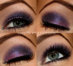 mystic purple make up