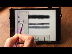 The Pen and Ink app has been updated The app describes itself as a watercolor notebook but it is really much more than that. It has excellent sets . Drawing Tablet, Apple Ipad, Ipad Pro, Pencil, Tutorials, Ink, Digital, Happy, Youtube