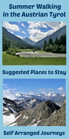 Four mountain resorts that are perfect for summer walking holidays in the Austrian Tyrol
