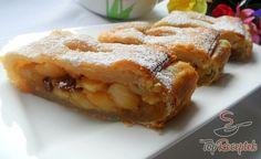 Almás rétes leveles tésztából | TopReceptek.hu Apple Pie, French Toast, Breakfast, Food, Internet, Deserts, Morning Coffee, Essen, Meals