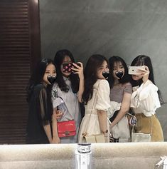 Read Ulzzang bff 5 from the story ULZZANG DAILY by (Milky Way) with reads. Mode Ulzzang, Ulzzang Korean Girl, Cute Korean Girl, Bff Pictures, Best Friend Pictures, Friend Photos, Ulzzang Girl Fashion, Foto Best Friend, Couple Ulzzang