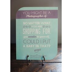 So true! Introducing Shoppe Satire Mod Mount Prints ~ ON FLASH SALE NOW! » The Shoppe Designs Blog