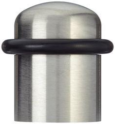 Eforlike 3 Pcs Zinc Alloy Kickdown Door Stop Durable Door Holder with Soft Rubber Bumper