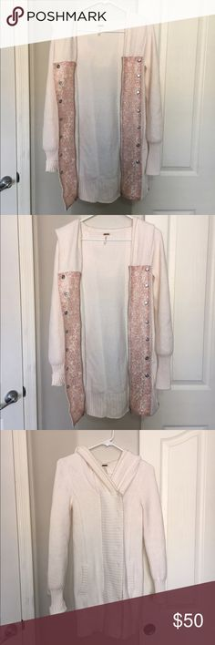 Free people jacket Free people jacket in great condition size Medium in women's! Free People Sweaters Cardigans
