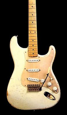 David Gilmour owned Fender Strat ser# 0001 Probably not the very first Strat, but early enough.