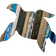 Love this! Recycled Sea Turtle Wall Art. From Outer Banks Trading Group. @Outer Banks Trading Group, Inc. #islandtime