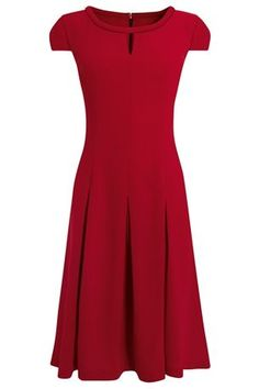 Buy Fluted Dress from the Next UK online shop
