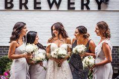 Luke & Melissa Credits: Ivy Leaf Photography Brewery Wedding Reception, Wedding Receptions, Leaf Photography, Ivy Leaf, Bridesmaid Dresses, Wedding Dresses, Fashion, Bridesmade Dresses, Bride Dresses