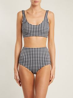 Lydia high-waisted bikini briefs Bathing Suits For Teens, Swimsuits For Teens, Cute Bathing Suits, Cute Swimsuits, Women Swimsuits, Cute Bikinis, Swimwear, Style Surfer, Girly