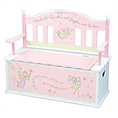 Fairytale toy chest