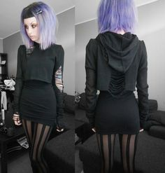 I want her closet. Could DEFINITELY live without her hair. (It suits her. Not me)