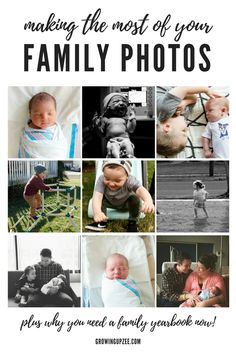 Making the Most of Your Family Photos - Growing Up Zee