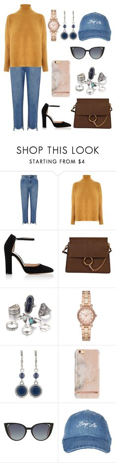 """""""Untitled #387"""" by catarina-de-sousa-lopes on Polyvore featuring Miss Selfridge, Warehouse, Gianvito Rossi, Chloé, Michael Kors, Nine West, Fendi and Topshop"""