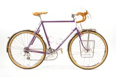 For the fan of steel bikes, Classic Rendezvous is just as valuable a resource as Sheldon Brown's. The CR Weekend will be held on June 10-12 in Greensboro, North Carolina and Brian Chapman will be in attendance as a Seminar Speaker. His latest bike will be on display, a tourer painted in Dodge's Plum Crazy…