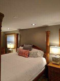 outstanding mega greige living room | Paint: Mega Greige, Sherwin Williams | Home Sweet Home ...