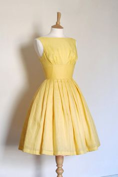 Lemon Yellow Linen Tiffany Prom Dress Made by by digforvictory Yellow Bridesmaid Dresses, Prom Dresses, Summer Dresses, Wedding Dresses, Vestidos Vintage, Yellow Dress, Yellow Vintage Dresses, Vintage Yellow, Wedding Pinterest