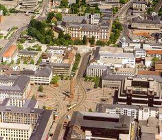 Luisenplatz Darmstadt | von Waltzing Broomhilda
