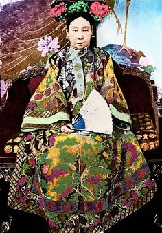 Women of History: Empress Dowager Cixi - late 19th century
