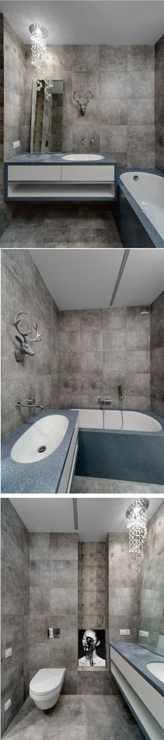 Modern Style Bathroom By Olga Kravchuta Interior Design Course Student In European