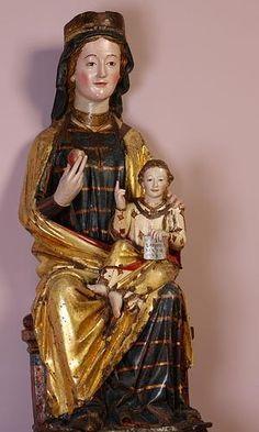Santa María de Vitoria o Virgen de la Esclavitud. Museo de Arte Sacro de Vitoria-Gasteiz.