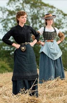 far from the madding crowd long skirts country pioneers,