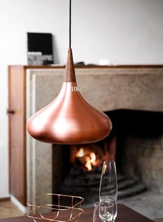 Copper Shade Pendant