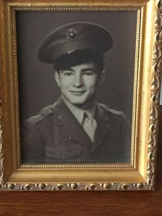 My great-grandfather 6th Marines. Bringing that fierce and flashy tipped-hat game straight outta 1947.