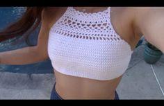 DIY Crochet Halter Top Pattern