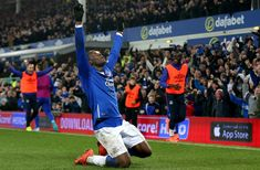 Romelu Lukaku's agent claims Everton striker is ready to play for European giant Everton Fc, Ready To Play, All Star, Basketball Court, Football, Club, Celebrities, Sports, Soccer