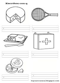 RECURSOS DE EDUCACIÓN INFANTIL: PALABRAS CON (II)... Tennis Racket, Sports, Words, Hs Sports, Sport