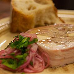 Try this Country Style Pork Terrine with Pickled Onions recipe by Chef Adrian Richardson. This recipe is from the show Secret Meat Business.