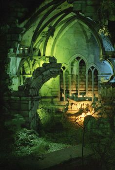 Haunted Castle (Dutch: Spookslot) is a haunted attraction in the amusement park Efteling in the Netherlands. Haunted Places, Abandoned Places, Holland Europe, Pokemon, Tivoli Gardens, World Of Fantasy, Weird Dreams, Castle Ruins, Dutch Artists