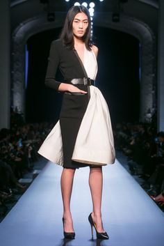 A look from the Jean Paul Gaultier Spring 2015 Couture collection.