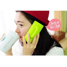Cool Classic Stereoscopic Cup Case Protective Cover for iPhone 4/4S