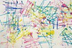 Splish Splash Splatter: Yarn Block Painting