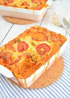 Vegetarian lasagna -