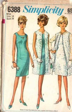 My junior high graduation dress was made from  this pattern.