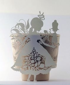 Lovely paper cut-outs from Elsa Mora.