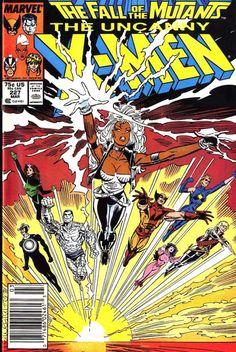 PIPOCA COM BACON - Quadrinhos: X-Men Outback (Marvel Comics) - Uncanny_X-Men_Vol_1_227 quadrinhos-x-men-outback-marvel-comics #PipocaComBacon