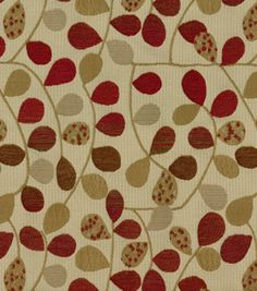 Richloom Studio Upholstery Fabric Bayberry Rouge