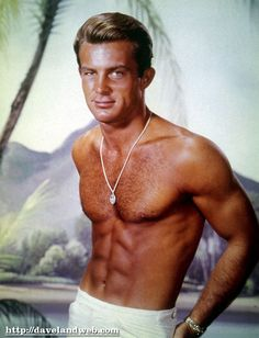 Robert Conrad on Ba Ba Black Sheep, and Wild Wild West...NO I didn't meet him. I wrote to him and he sent me an autographed picture.