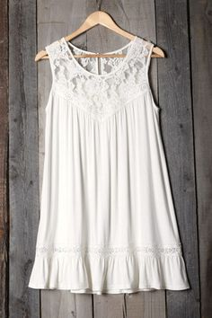 Cupshe Cut to the Lace Casual Dress