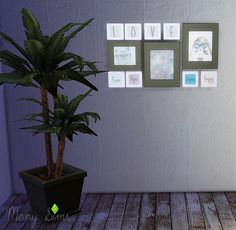The Hipster Frame at Mony Sims via Sims 4 Updates