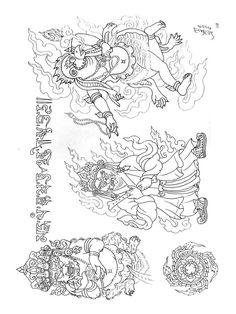 Paradise Tattoo, Gangsta's Paradise, Tibet Art, Oriental Tattoo, Design Show, Buddhism, Tattoo Designs, Tattoos, Training