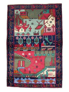 One-of-a-Kind Rugs by Bashian Paki Tribal Belouj Rug